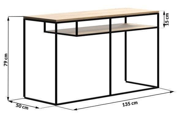 Письменный/Офисный стол LOFT 790*1350*500