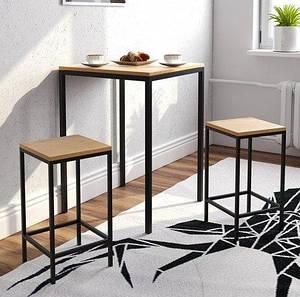 Барный стол для дома/кафе LOFT LNK 820*600*600