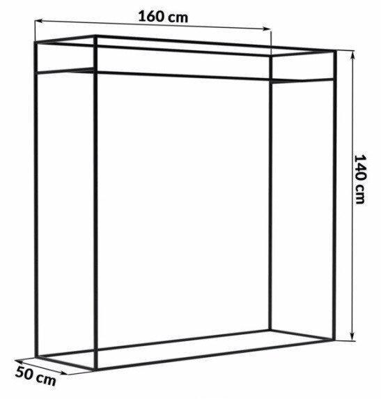 Стойка-Вешалка для одежды LOFT 500*1600*1400