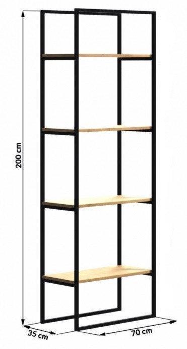 Стеллаж для хранения LNK - LOFT 2000*350*700