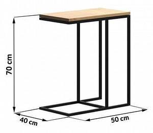 """Приставной столик """"LNK - LOFT"""" 700*400*500"""