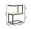 """Приставной столик LNK - LOFT """"2"""" 700*300*500"""