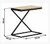 """Прикроватный столик LNK - LOFT """"Х"""" 500*350*550, фото 2"""