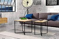 Кофейный Журнальный столик LNK - LOFT (30*50*50), фото 1