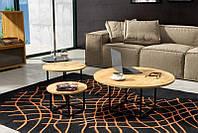 Кофейный Журнальный столик LNK - LOFT круглый MAX 400*900, фото 1