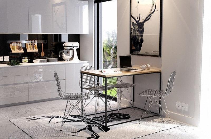 Обеденный стол Лофт LNK - LOFT 750*800*1800