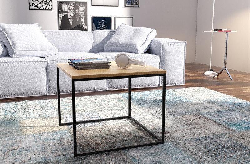 Кофейный Журнальный столик LNK - LOFT small 450*500*500