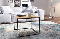 Кофейный Журнальный столик LNK - LOFT small (450*500), фото 1