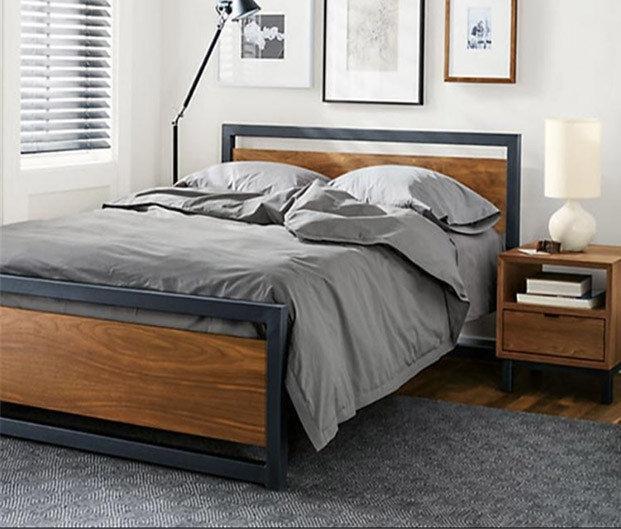 Кровать в стиле Loft LNK - LOFT 500*1800*2000*900