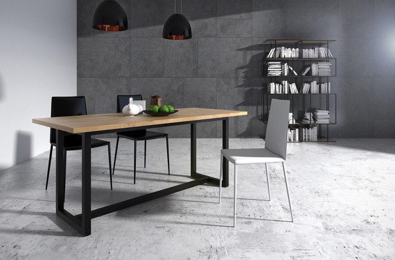 Обеденный стол Лофт LNK - LOFT 750*1200*900