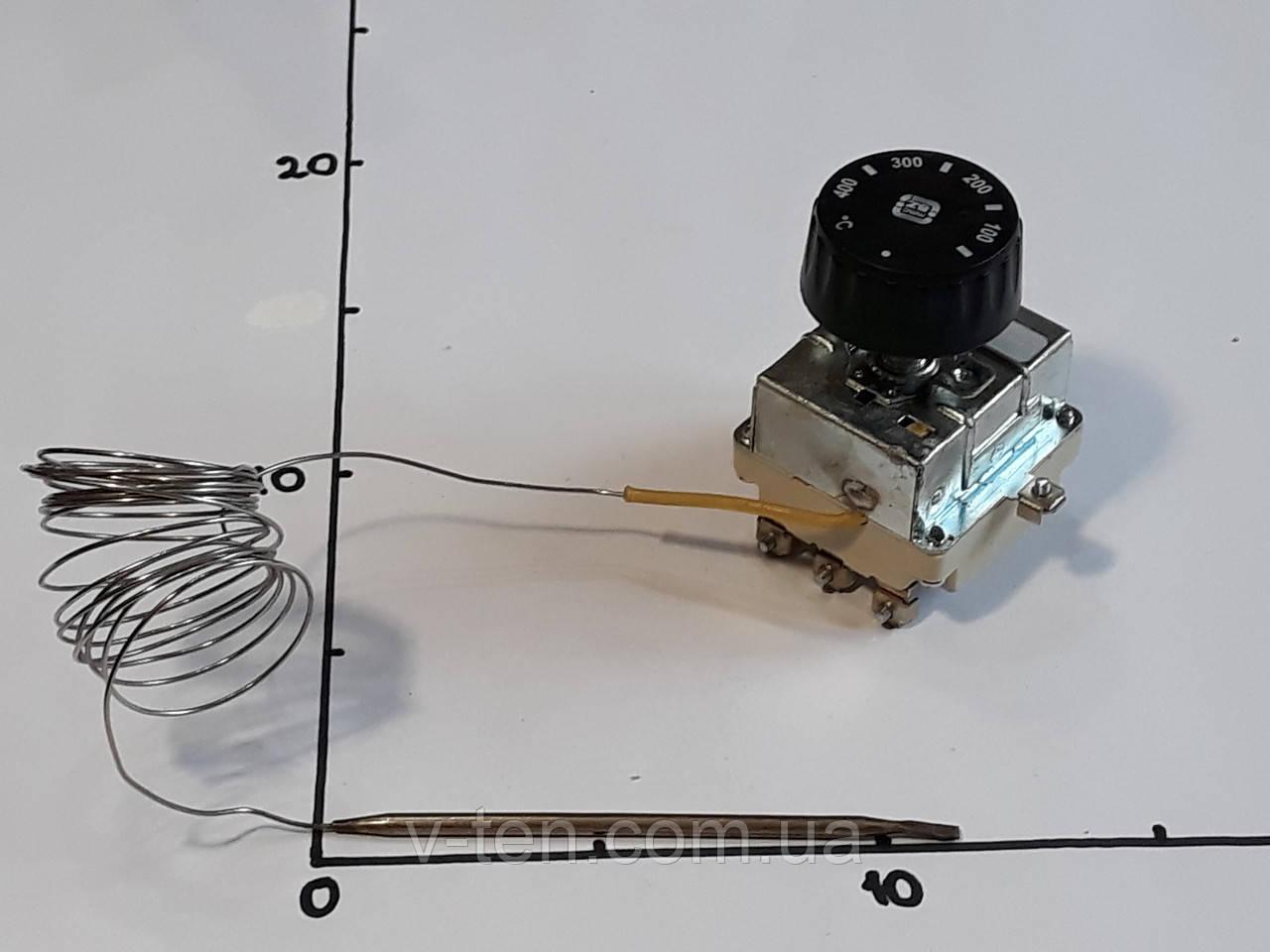 Терморегулятор 50-400°C капиллярный (трёхполюсный) MMG (Венгрия)