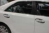 Хром накладки под ручки Toyota Camry 50 2012-> (Autoclover C066), фото 8