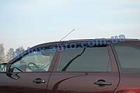 Ветровики Cobra Tuning на авто Лада Калина универсал Дефлекторы окон Кобра для LADA Kalina wagon