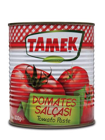 Натуральная томатная паста, 830 гр