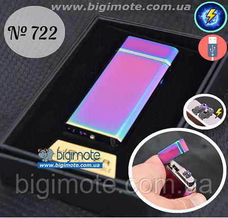 Качественная USB Зажигалка, электроимпульсная, електрозажигалка, электрозапальничка, фото 2