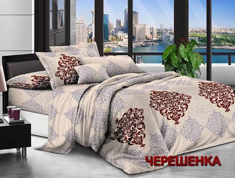 Семейный набор хлопкового постельного белья из Ранфорса №18613904 Черешенка™, фото 2