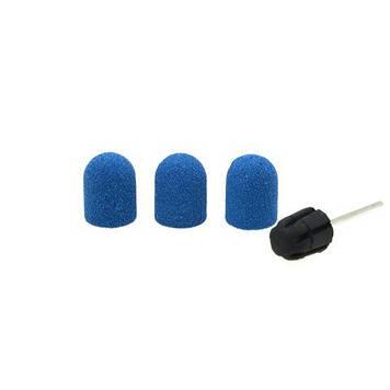 Насадки для фрезера синие, размер 10