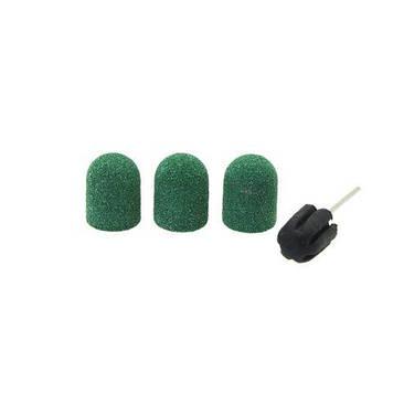 Насадки для фрезера зелёные, размер 10