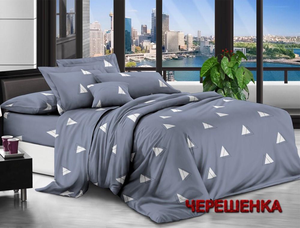 Семейный набор хлопкового постельного белья из Ранфорса №1836503 Черешенка™