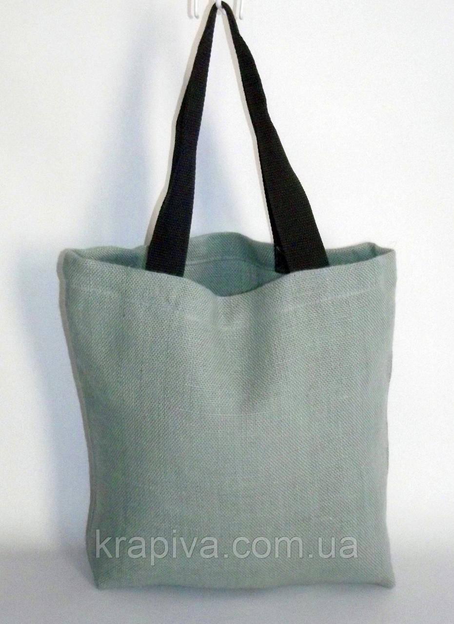 Эко-сумка джутовая, экосумка для покупок, торба шопер джут, экомешок