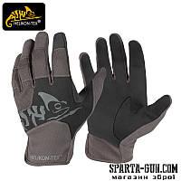 Рукавиці Helikon-Tex® All Round Tactical Light - Black-Shadow Grey