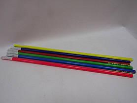 Палка гимнастическая детская №5 110см, диам.2,7см, фото 2