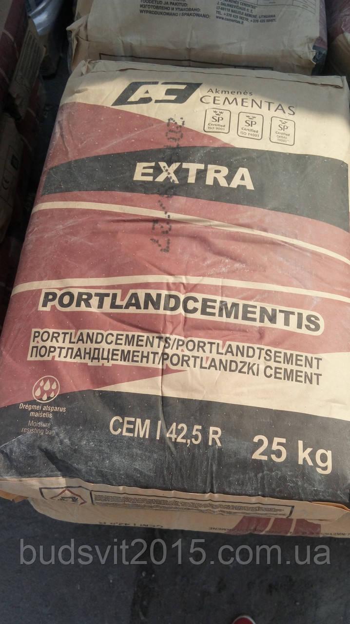 ПОРТЛАНДЦЕМЕНТ CEM I 42,5 R 25 кг - 500 Екстра