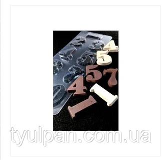 3D Форма пластиковая Цифры молд