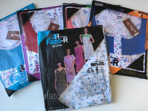 Ночная рубашка из Хлопка 48-58. Нижнее белье, фото 2