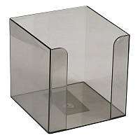 Куб для бумаги 90x90x90 мм, дымчатый