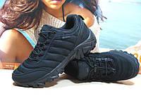 Термо - кроссовки Yike - реплика Merrell Ice Cap Moc черные 44 р., фото 1