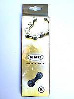 Цепь KMC Z99 9 скоростей 116зв. для велосипедов