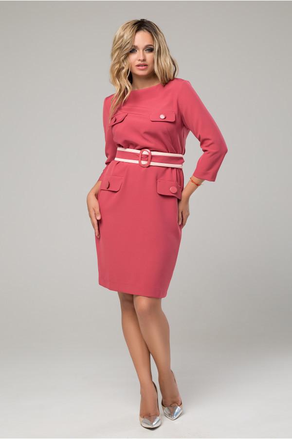 Элегантное платье с 44 по 52 размер 2 цвета