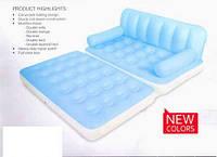 Надувная диван - трансформер BestWay, 75038 (188*152*64 см) 5 в 1 + насос