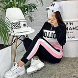 Спортивний костюм штани штани з лампасами + кофта Толстовка Follow, фото 7