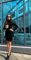 Платье-гольф р. 42-46 черный, фото 1
