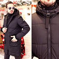 Мужское пальто черное 46 48 50 52