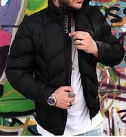 Мужская куртка черная 46 48 50 52, фото 1
