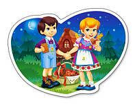 Пазлы для детей Пряничный домик на 15 элементов Сastorland