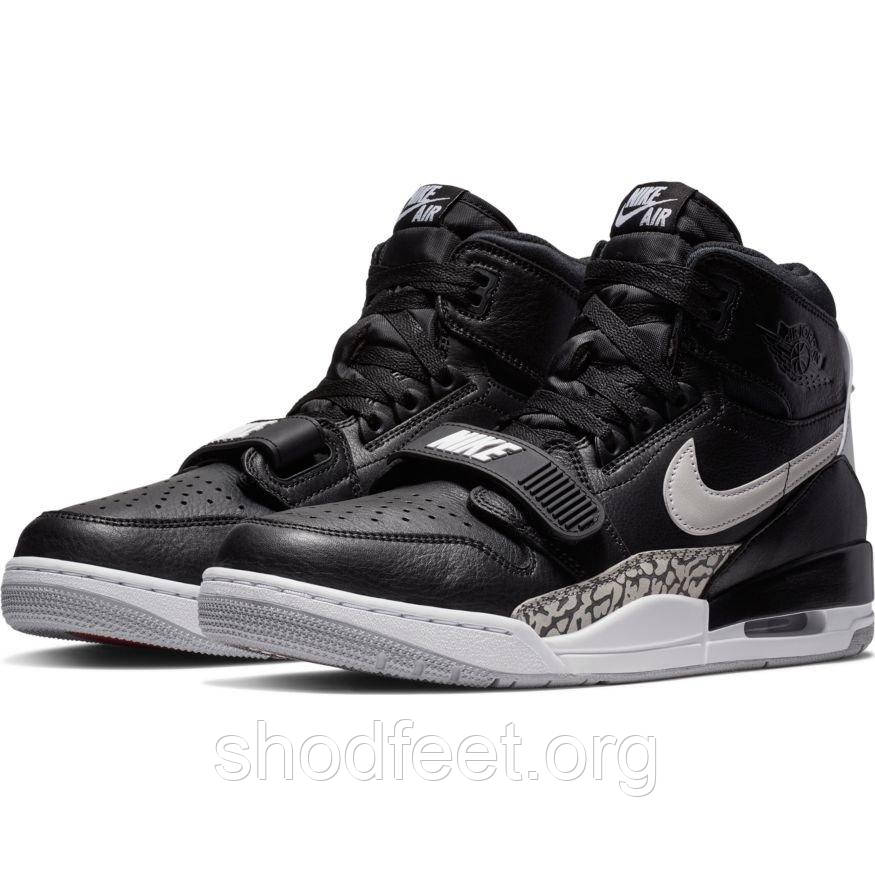 Мужские кроссовки Air Jordan Legacy 312 Black Cement