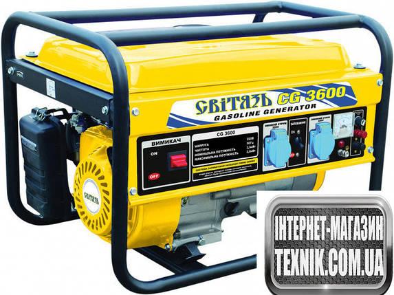 Бензиновый генератор Свитязь СG3600, фото 2