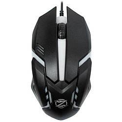 Мышь USB Zornwee GM02 Black