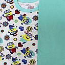 Пижама детская подростоквая футер рост 134-158, фото 5