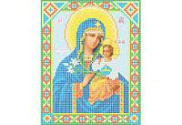 Атлас с нанесенным рисунком БОЖЬЯ МАТЕРЬ «Неувядаемый цвет»