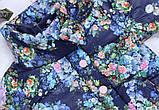Детская куртка ветровка  98.104.110.116 синяя Одесская швейка  Плащевка+ тонкий слой синтепона, фото 2