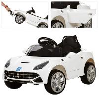 Електромобіль дитячий в стилі Феррарі (M 3176EBLR-1)   2 мотора 25W, 2 акумулятори, колеса EVA, MP3, USB