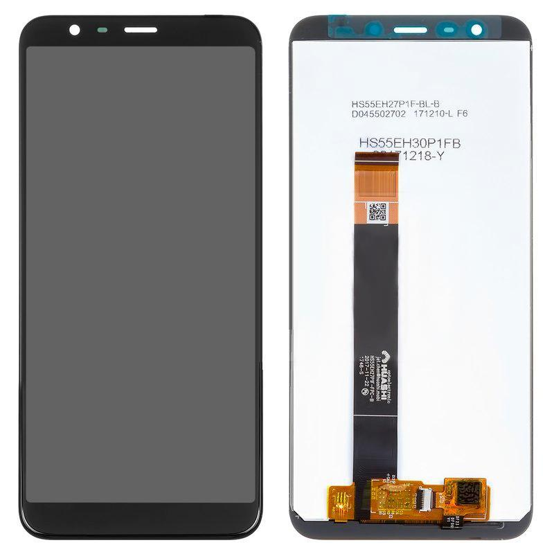Дисплей Meizu M8c с черным сенсором