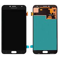 Дисплейный модуль (LCD + touch) Samsung J400H/ J4-2018 черный Copy