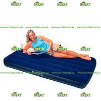 Надувной матрас Intex, 68757 велюровый односпальный (191*99*22 см)