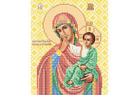 Атлас с нанесенным рисунком БОЖЬЯ МАТЕРЬ «Отрада и Утешение»